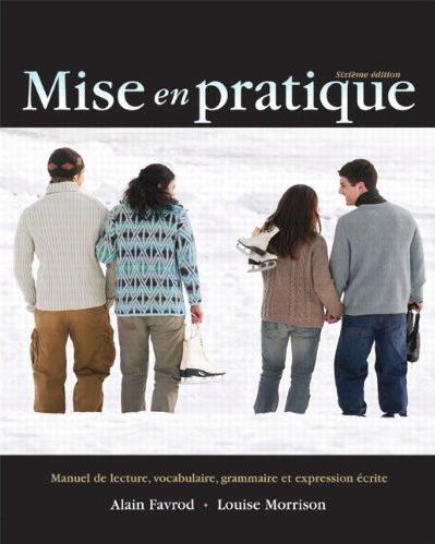 Alain Favrot, Louise Morrison